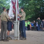 Morning Flag Ceremony